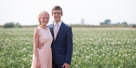 Bruiloft piet en jannetje tickets