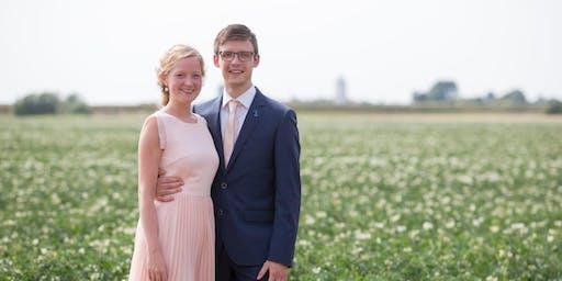 Bruiloft piet en jannetje