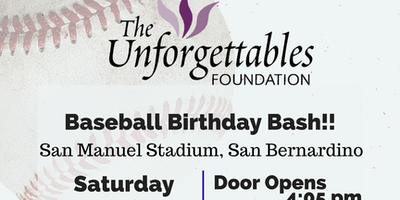 Baseball Birthday Bash