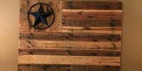 Holiday Make It Take It: Wood Wall Art Flag tickets