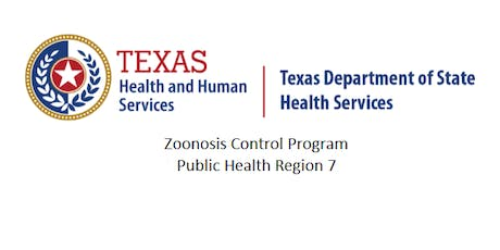The Region 7 Zoonosis Control Program FREE one-day (6-hour) Continuing Education Seminar  tickets