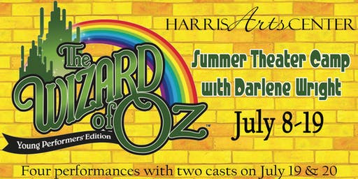 Wizard of Oz Young Performers' Theater Camp