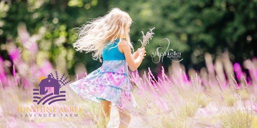 Lavender Farm Professional Photo Sessions