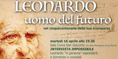 """""""Aperitivo filosofico"""" con Leonardo da Vinci"""