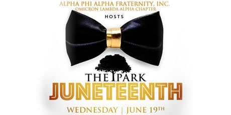 1ee8b03e1fd14d Juneteenth  Black Independence Day hosted by Alpha Phi Alpha Fraternity