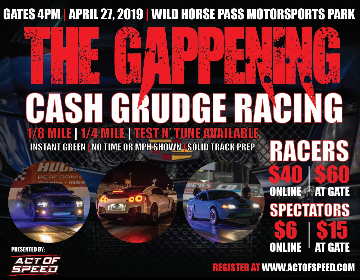 The Gappening - Cash Grudge Racing