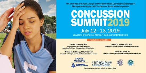 Other Health Care Providers Concussion Summit 2019 Registration