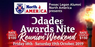 Presec-Odadee North America Chapter Awards and Fundraising Nite