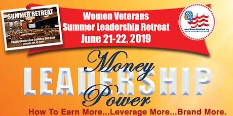 Women Veterans Summer Leadership Retreat 2019 tickets