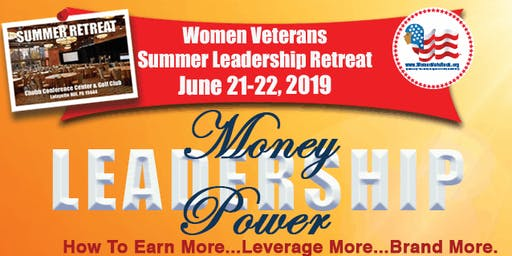 Women Veterans Summer Leadership Retreat 2019 - SOLD OUT