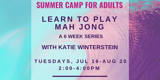 Learn to Play Mah Jong