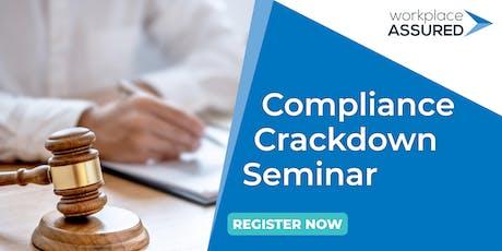 Victorian Chamber - Compliance Crackdown Seminar - Shepparton tickets