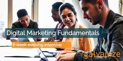 Digital Marketing Fundamentals - Galvanize Boulder (Remote Option Available)