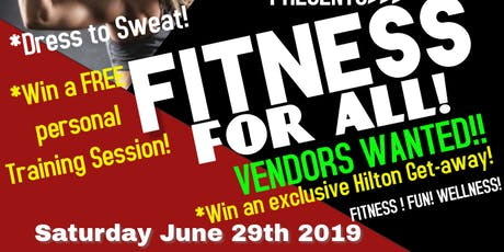 Fitness For All tickets