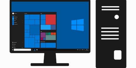 Windows 10 Computer Basics 201 (T2-19) tickets