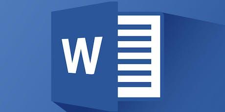 Microsoft Word 201 (T2-19) tickets