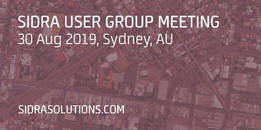 SIDRA USER GROUP MEETING // Sydney [TE052]