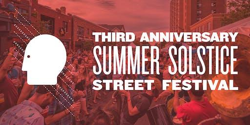 Thin Man Brewery Third Anniversary Summer Solstice Street Festival