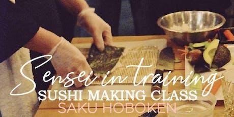 Saku Sushi Making Class tickets