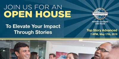 Top Story Advanced Toastmasters Open House