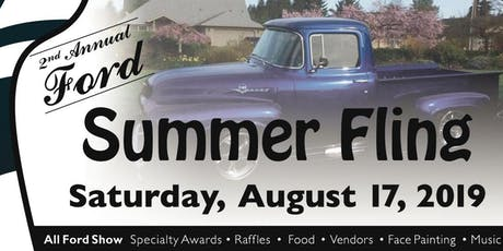 Ford Summer Fling Carshow 2019 tickets