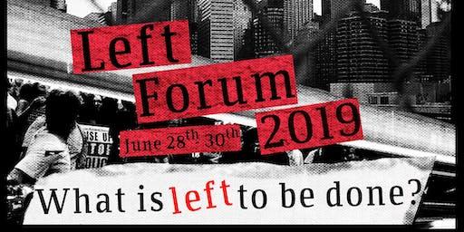 Left Forum 2019