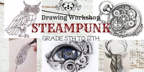 Summer Art Workshop- Steampunk Art Drawing & Sketching tickets