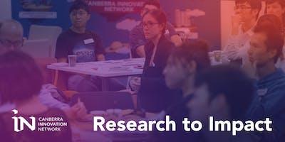 Research to Impact Program Cohort 2 - 2019