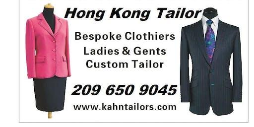 Get it Custom: Hong Kong Tailor Traveling Costa Mesa Orange County