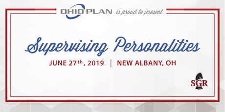 Supervising Personalities - Live Training - New Albany, OH  tickets