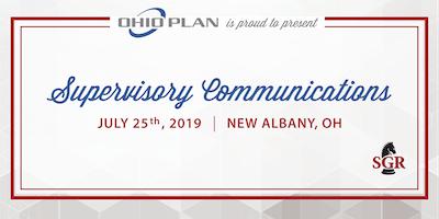 Supervisory Communications - Live Training - New Albany, OH