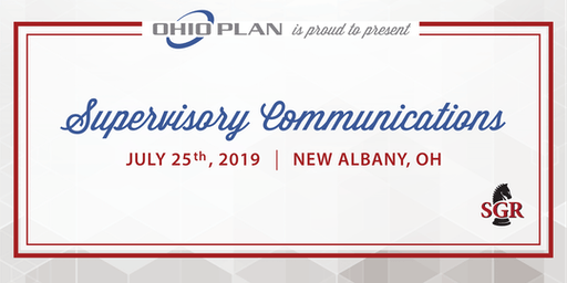 Supervisory Communications - Live Training - New Albany, OH