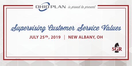 Supervising Customer Service Values - Live Training - New Albany, OH  tickets
