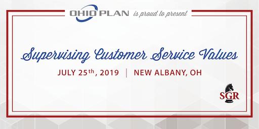 Supervising Customer Service Values - Live Training - New Albany, OH