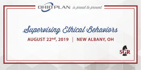 Supervising Ethical Behaviors - Live Training - New Albany, OH tickets