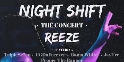 THE NIGHT SHIFT CONCERT *vendor Registration*