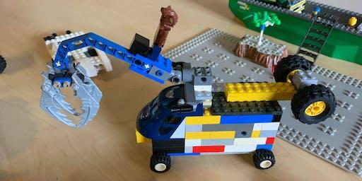 LEGO pyjama party