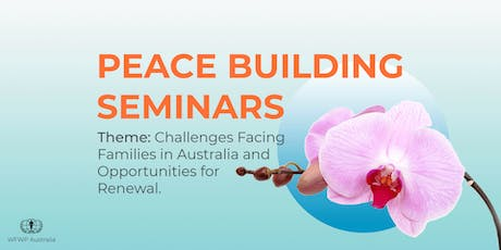 Peace building Seminar series tickets