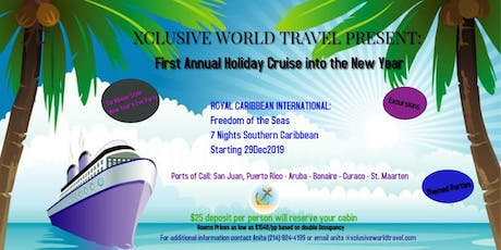 First Annual Cruise into The New Year 2020 tickets