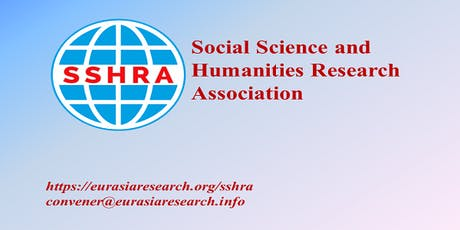4th Bangkok – International Conference on Social Science & Humanities (ICSSH), 15-16 October 2019 tickets