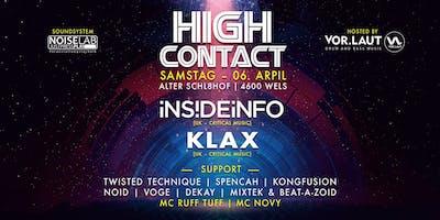 High Contact Spring 2019 w// InsideInfo & Klax [Critical - UK]