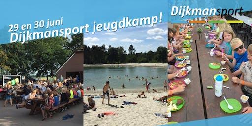 Dijkmansport Jeugdkamp 29 & 30 juni 2019
