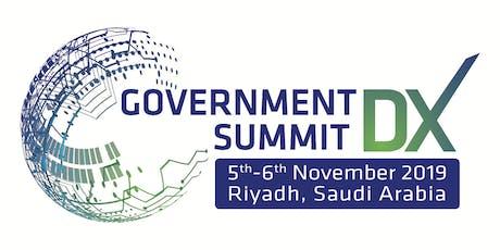 Government DX Summit tickets
