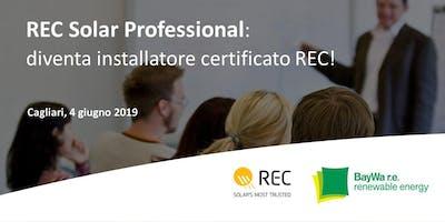 Cagliari, REC Solar Professional: diventa installatore certificato REC!