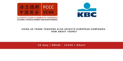 CHINA-US TRADE TENSIONS ALSO AFFECTS EUROPEAN COMPANIES. WHAT ABOUT YOURS?