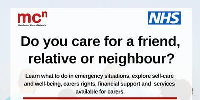 Being A Carer - FREE workshop for Manchester carers
