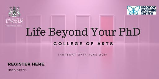 College of Arts: Life Beyond your PhD