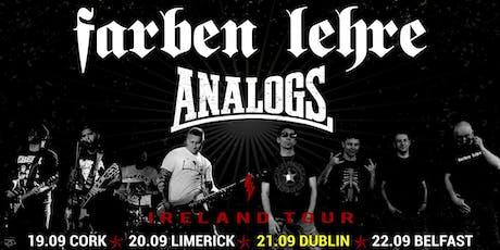 Analogs & Farben Lehre - Dublin tickets
