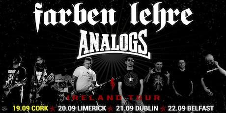 Analogs & Farben Lehre - Cork tickets
