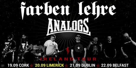 Analogs & Farben Lehre - Limerick tickets